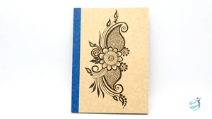 Henna Tattoo Inspired Notebook: CHN001