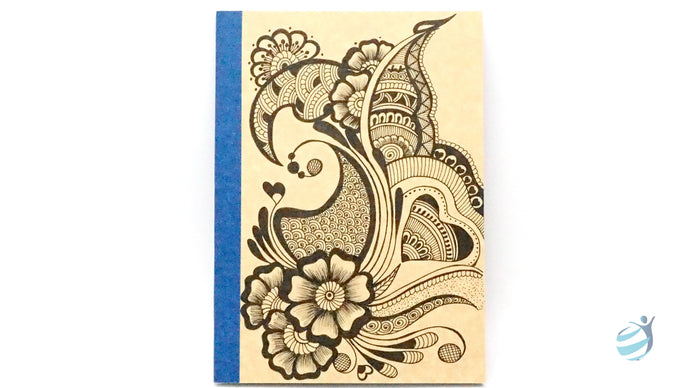 Henna Tattoo Inspired Notebook: CHN003