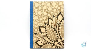 Henna Tattoo Inspired Notebook: CHN004