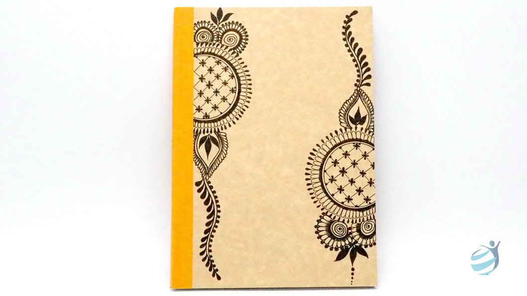 Henna Tattoo Inspired Notebook: CHN005