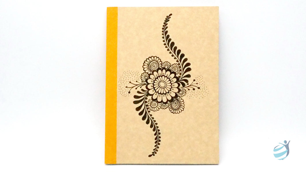Henna Tattoo Inspired Notebook: CHN006