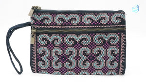 Handmade hill tribe embroidery purse: CMP003