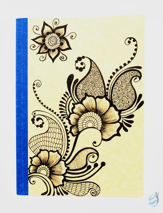 Henna Tattoo Inspired Notebook: CHN009