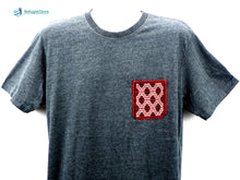 Handmade Hill Tribe Embroidery T-Shirt: CTS002