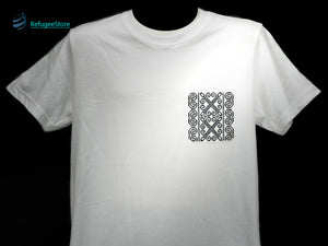Handmade Hill Tribe Embroidery T-Shirt: CTS009