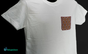 Handmade Hill Tribe Embroidery T-Shirt: CTS010