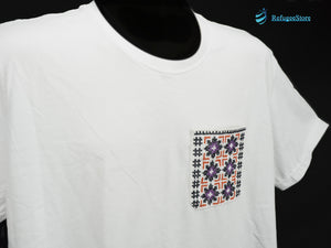 Handmade Hill Tribe Embroidery T-Shirt: CTS011