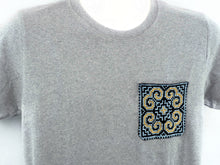 Handmade Hill Tribe Embroidery T-Shirt: CTS012