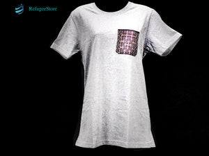 Handmade Hill Tribe Embroidery T-Shirt: CTS007