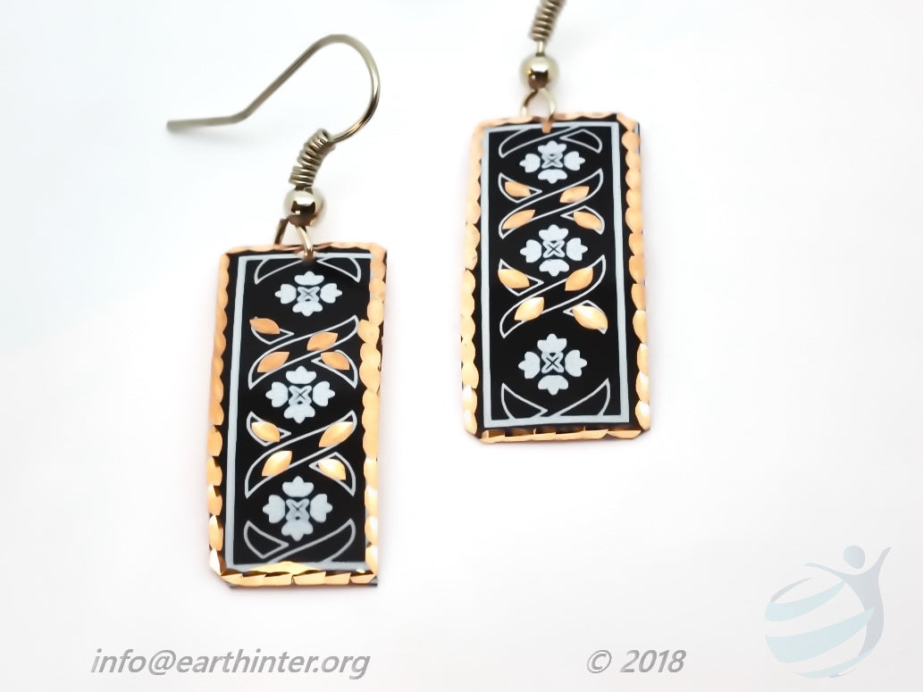 Handmade Turkish Copper Earrings