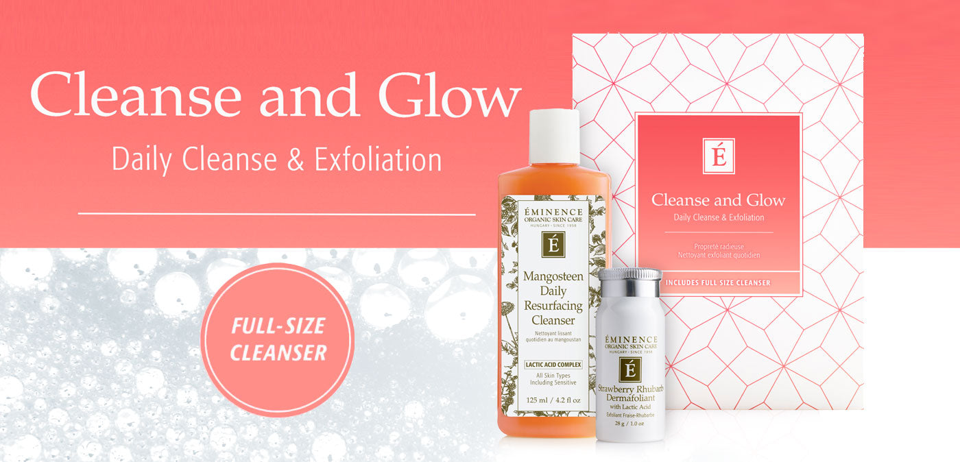 Cleanse and Glow Gift Set Available Now