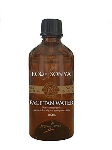 Eco Tan Face Tan Water 100 Ml Organic Fake Tan