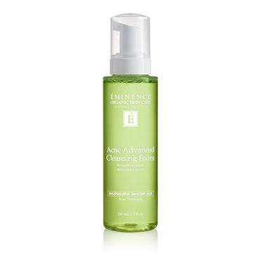 Acne Advanced Cleansing Foam Organic Cleanser