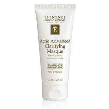 Acne Advanced Clarifying Masque Organic Mask