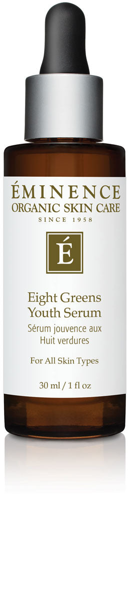 Eminence Canada Organic Eight Greens Youth Serum Organic Face Serum