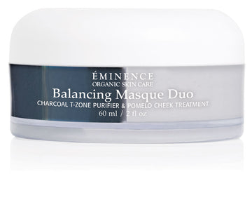 Eminence Canada Balancing Masque Duo T Zone & Cheek Organic Mask