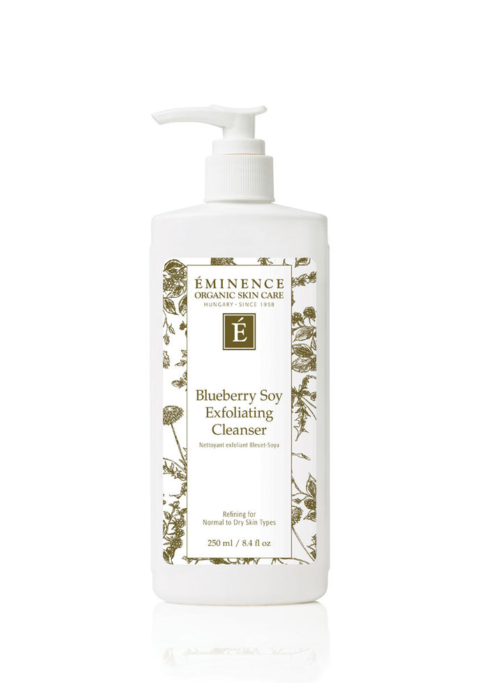 Eminence Canada Blueberry Soy Exfoliating Cleanser Organic Cleanser