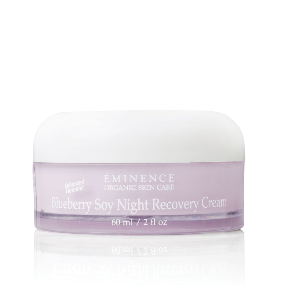 Eminence Canada Blueberry Soy Night Recovery Cream Organic Moisturizer