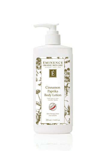 Eminence Canada Cinnamon Paprika Body Lotion Organic Body Lotion