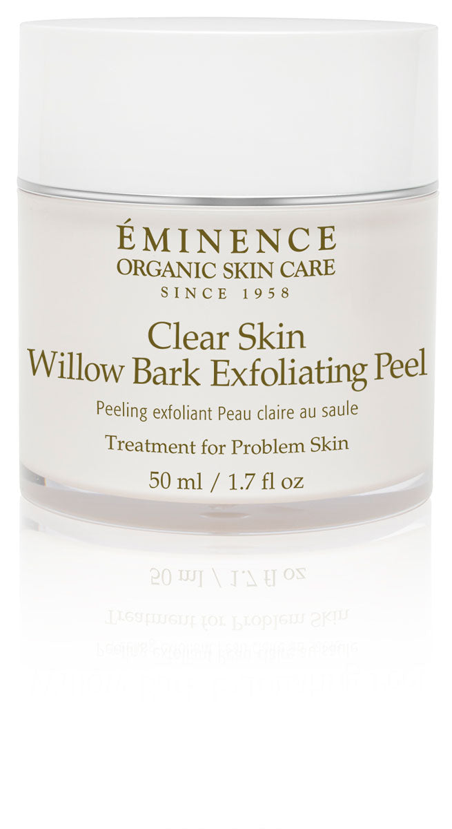 Eminence Organics Toronto Ontario - Clear Skin Willow Bark Exfoliating Peel Special Treatments Face & Body eminence Toronto Eminence Organics Toronto Ontario Ontario eminence canada