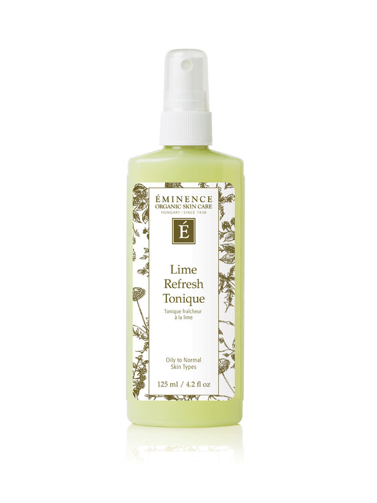 Eminence Canada Organic Lime Refresh Tonique Organic Face Toner