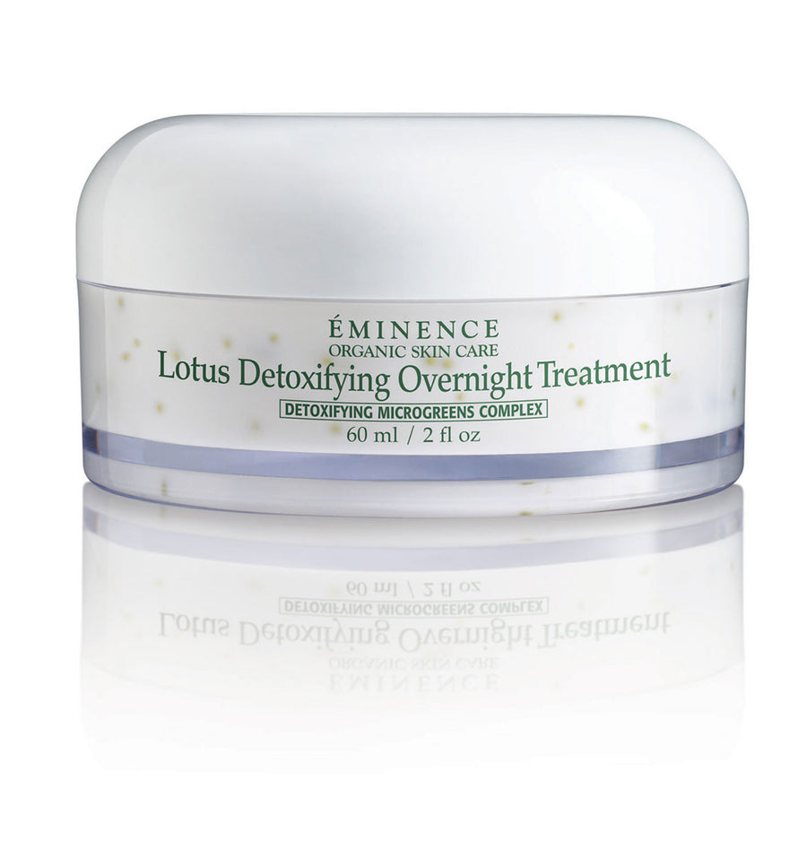 Eminence Canada Organic Lotus Detoxifying Overnight Treatment