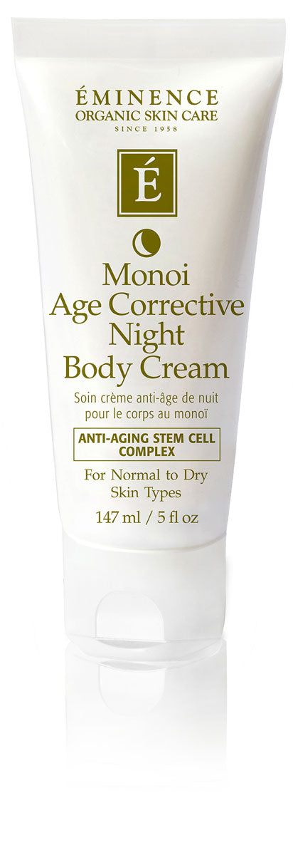 Eminence Canada Monoi Age Corrective Night Body Cream Organic Body Lotion