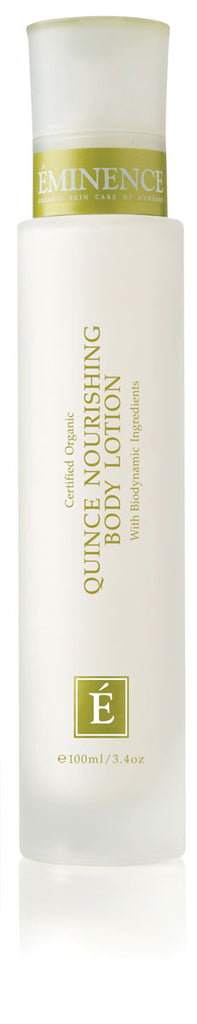 Eminence Canada Quince Nourishing Body Lotion Organic Body Lotion
