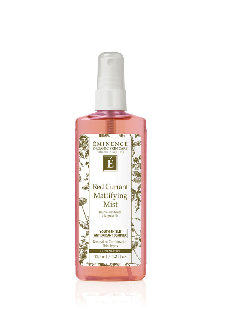 Eminence Organics Toronto Ontario - Red Currant Mattifying Mist Toniques eminence Toronto Eminence Organics Toronto Ontario Ontario eminence canada