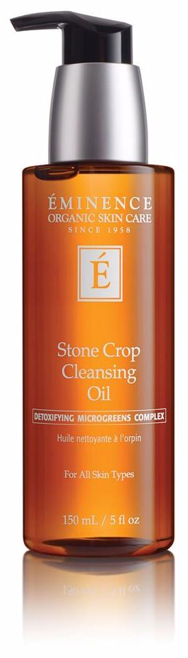 Eminence Canada Organic Stone Crop Cleansing Oil Organic Cleanser