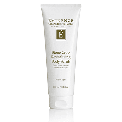 Eminence Canada Stone Crop Revitalizing Body Scrub Organic Body Lotion