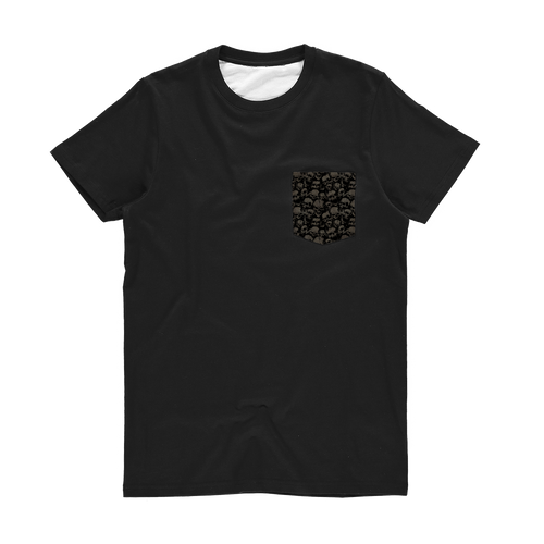 Skulls Pocket T-Shirt