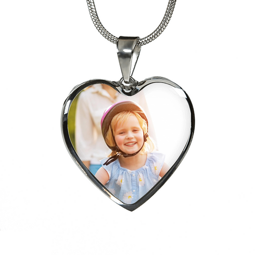Design your own heart necklace