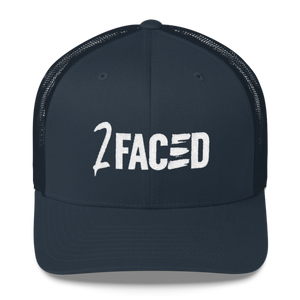 2Faced Retro Trucker Cap