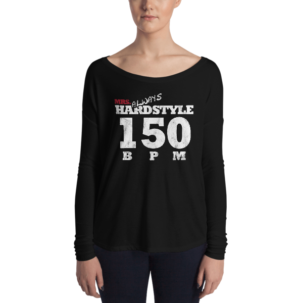 Mrs. Always Hardstyle Ladies' Long Sleeve Tee