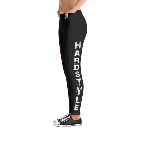 White Hardstyle Leggings