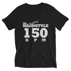 Mr. Always Hardstyle V-Neck T-Shirt