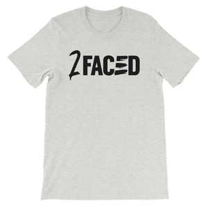 2Faced Unisex T-Shirt White