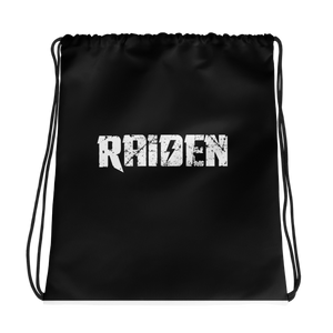 Official Raiden Drawstring bag black