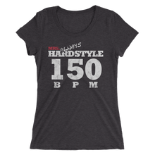 Mrs Always Hardstyle Ladie´s slim fit t-shirt