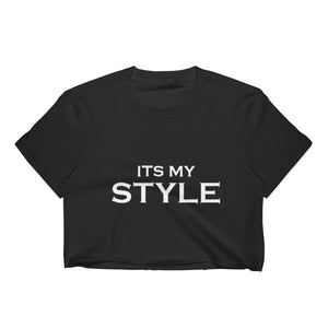 It's My Style Women's Crop Top