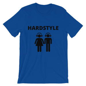Hardstyle Couple Unisex short sleeve t-shirt