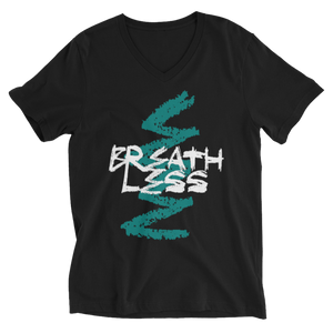 Breathless Official Men V-Neck T-Shirt