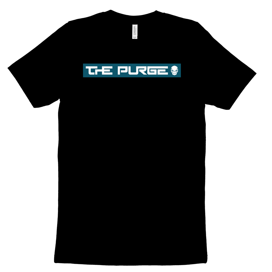 The Purge Blue Black Shirt