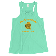 Queen of Hardstyle Women's Flowy Racerback Tank