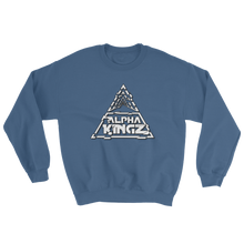 Official Alpha Kingz Sweatshirt White Special Logo