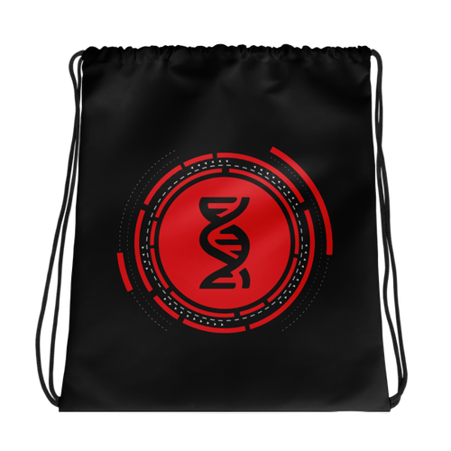 Hardstyle DNA Drawstring bag