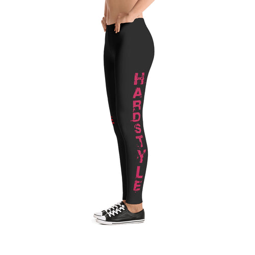 Red Hardstyle Leggings