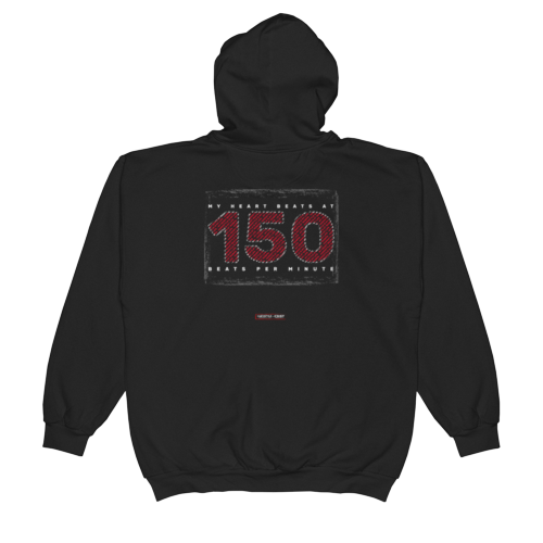 150 BPM Unisex Hooded Pullover Sweatshirt