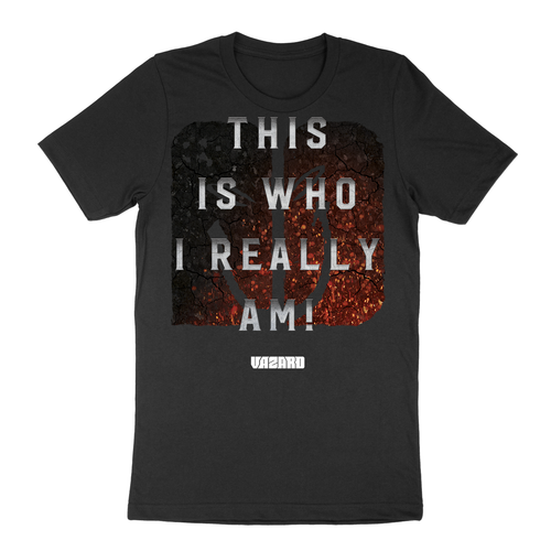 Vazard 'This Is Who I Really Am' Large Logo T-Shirt